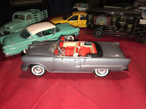 Chevrolet bel air 1956 convertible die cast 1/18 die cast