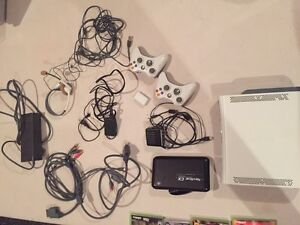 XBOX 360 HDD with controllers, games, and more Kitchener / Waterloo Kitchener Area image 3