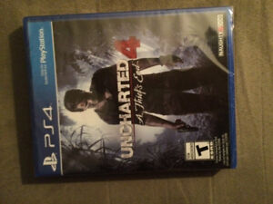 Uncharted 4 unopened for PS42