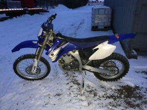 2007 WR 450 for sale immaculate shape and low km