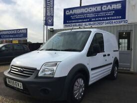 2009 59 FORD TRANSIT CONNECT T220 -ONE OWNER -77,000 MILES -NO VAT-12 MONTHS MOT