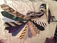 Mens ties - various colours and brands