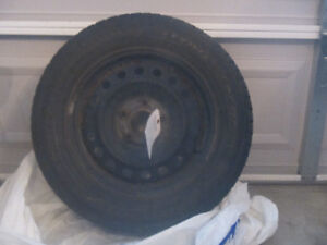 Winter is Coming ! Used snow tires on rims.