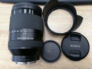 Sony FE 24-240 F3.5-F6.3 Lens for Sony DSLM Camera
