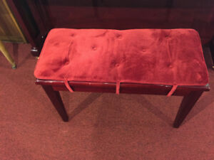 Piano Bench Cushions in Various Colours