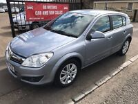 2009 (59) VAUXHALL ASTRA DESIGN, 79000, WARRANTY, NOT FOCUS 308 MEGANE S40 BRAVO