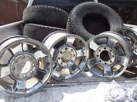 """Dodge Ram Chrome Rims 2500 Set 17"""""""