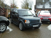 2007 07 Reg Land Rover Discovery 3 2.7TD V6 Auto HSE