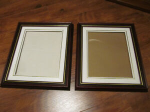 5 Picture Frames Varying in sizes