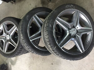 Mercedes winter tires package buy or sell used or new for Mercedes benz winter tires