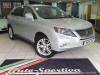 2010 Lexus RX 3.5 SE-I CVT 4x4 5dr PETROL/ELECTRIC silver CVT