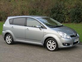 2009 Toyota Corolla Verso 2.2 D-4D SR Manual 6 Speed 7 Seat 5 Door Diesel MPV