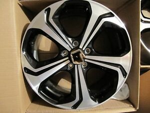 2014-2015 civic si 18inch oem rims in box West Island Greater Montréal image 2