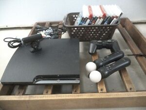 PS3 with games an accesorries