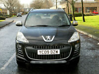 2009 09 Peugeot 4007 2.2 HDi Sport XS 5dr WITH FSH+QUILTED LEATHER INTERIOR