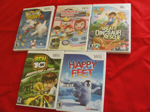 5 Wii games for $20
