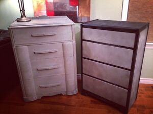 Two 4 drawer dressers for sale