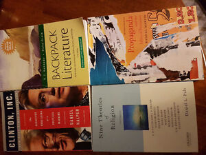 Various textbooks from SMU