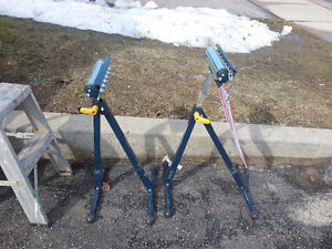Two Mastercraft Trifunction stands for sale