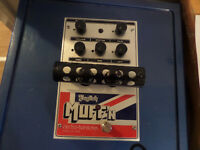 Overdrive Electro Harmonix English Muff'n
