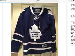 $40 Toronto Maple Leaf youth medium jersey