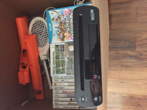 WiiU and Wii games and accessories