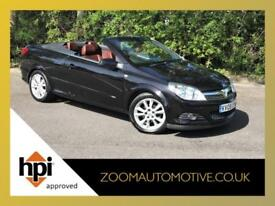2009 VAUXHALL ASTRA TWINTOP 1.8 TWIN TOP DESIGN CONVERTIBLE ONLY 44000 MILES