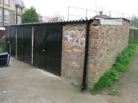 Garages to rent in South London. Storage, mini workshop, lock-ups