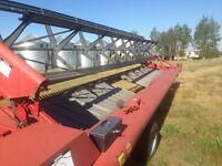 Case international 730 swather