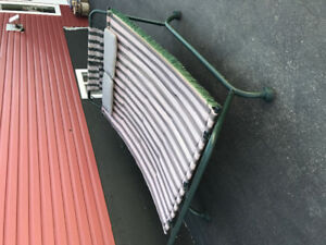 Double Hammock with steel frame