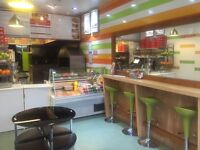 Fast Food Take A Way with flat for sale in Cheetham Hill