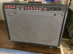 Fender Twin Late 80s Red Knob