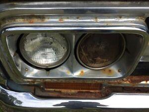 70 gmc headlight trim