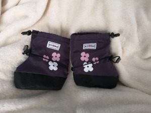 Purple Toddler Girl's Stonz Boots Size Large