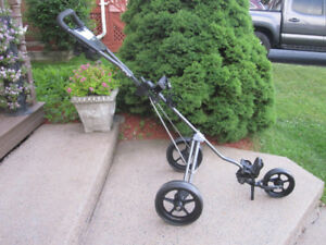 "Three Wheeled Push/Pull Golf Cart Foldable (Arnold Palmer) ""NEW"""