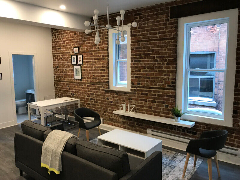 Downtown Renovated/Fully Furnished apartments - Summer ...
