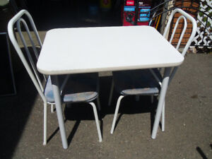 small kitchen table and chair set