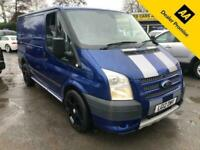 2012 Ford Transit 2.2 260 SPORT 140 BHP S/W/B LOW ROOF METALIC BLUE WITH FULL GR