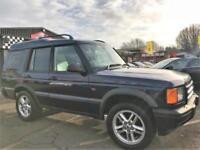 2001 Land Rover Discovery 2.5 TD5 ES 5dr Diesel blue Manual