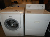 Bosch Nexxt HE washer and Kenmore dyer