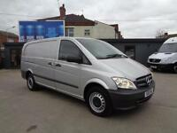MERCEDES-BENZ VITO 2.1 TD | 113 CDi | LONG | 1 OWNER | SILVER | 2013 MODEL