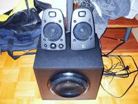 un kit de speackers logitech 200 watts neuf a vendre!