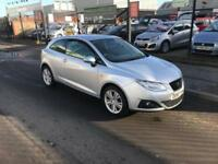 2010/60 Seat Ibiza 1.4 16v (85ps) 3dr Sport Coupe Good Stuff SAVE £300 NOW £3995