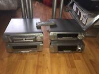 Technics dv290 hifi separates home theatre 5 speaker surround sound