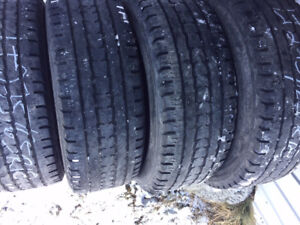 4x Hiver LT 275/65R18 10ply Firestone Winterforce LT