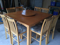 Bar Stool height table and chairs