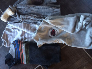 Boys sweaters size 5