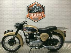 1957 BSA GOLDEN FLASH A10 IN, GREAT CLASSIC MACHINE