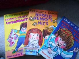 Horrid Henry books New