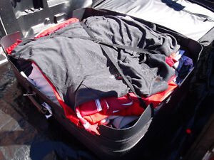XL Shirts   36 Pants   Used   includes suitcase